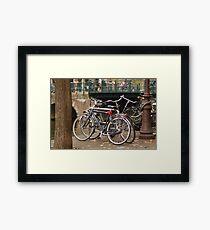 Bikes Framed Print