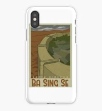 Ba Sing Se Travel Poster iPhone Case/Skin