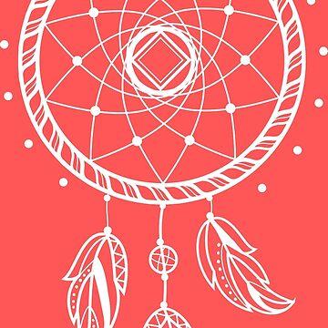 White Dream Catcher Design by AppRise