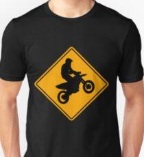 Supermoto Road Sign Unisex T-Shirt