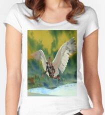Pollution Sky Women's Fitted Scoop T-Shirt