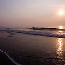 Sunrise at Island Beach State Park by Debra Fedchin