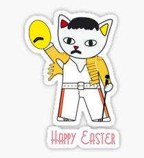 Freddie Meow Easter egg Sticker