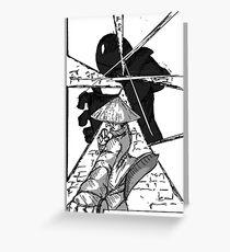 Samurai Fang page 3 Greeting Card