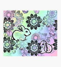 Easter Egg Pattern Photographic Print