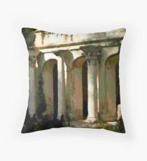 Greek Villa in Chersonesus Throw Pillow