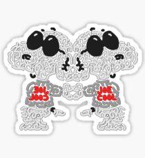 Snoopy Peanuts Joe Cool Sticker