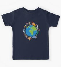 We Love Our Planet   Animals Around The World II Kids Clothes