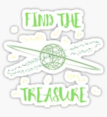Find the treasure Sticker