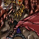 Fierce Attack by ojharper