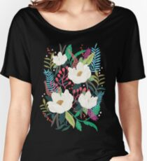 The Garden of Alice, flower, floral, blossom art print Women's Relaxed Fit T-Shirt