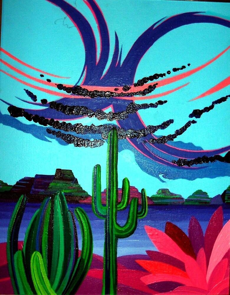 Southwest Storm by Jamie Winter-Schira
