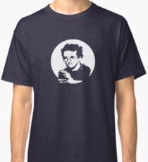 Roberto Bolano - Infrarrealist XXI century writer (for dark Background) Classic T-Shirt