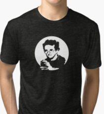 Roberto Bolano - Infrarrealist XXI century writer (for dark Background) Tri-blend T-Shirt