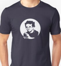 Roberto Bolano - Infrarrealist XXI century writer (for dark Background) Unisex T-Shirt