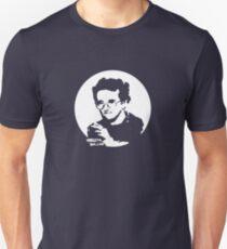 Roberto Bolano - Infrarrealist XXI century writer (for dark Background) Slim Fit T-Shirt