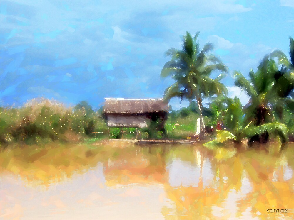 Tropical Island by carmaz