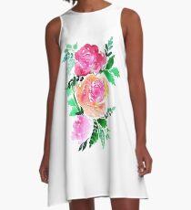 Flourishes A-Line Dress