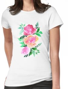 Flourishes Womens Fitted T-Shirt