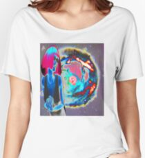 Psychedelic Cosmic Wonder Women's Relaxed Fit T-Shirt