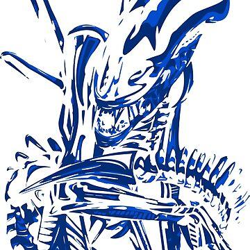 Alien Blue by MachineGear
