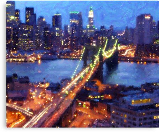 NYC at Night 3 by carmaz