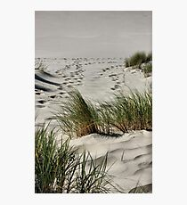 Footprints in the Sands  Photographic Print