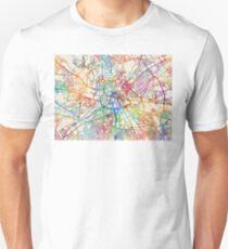 Manchester England Street Map T-Shirt