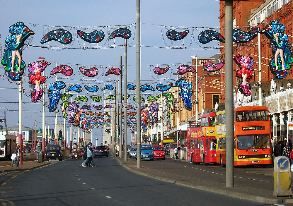 Blackpool Lights - 1 by Sharon Perrett