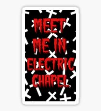 Electric chapel lyrics  Sticker