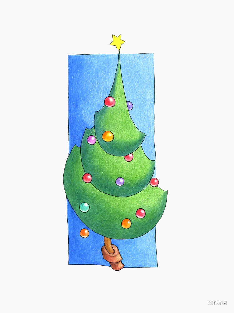 Christmas Tree White by mrana