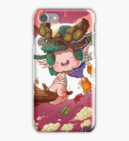 Yoshiki & Capitan leap iPhone Case/Skin