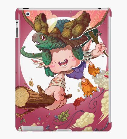 Yoshiki & Capitan leap iPad Case/Skin