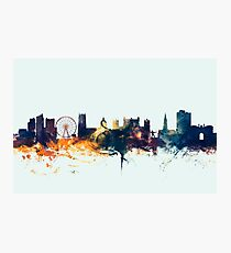 Nottingham England Skyline Photographic Print