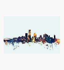 Milwaukee Wisconsin Skyline Photographic Print