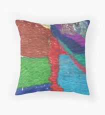 markers on a tissue Throw Pillow