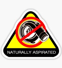 Naturally Aspirated Car Sticker