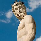 Neptune Statue, Florence, Italy by Petr Svarc