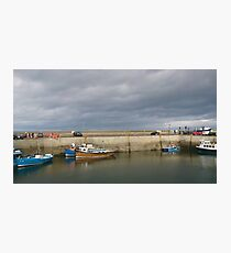 seahouses Photographic Print