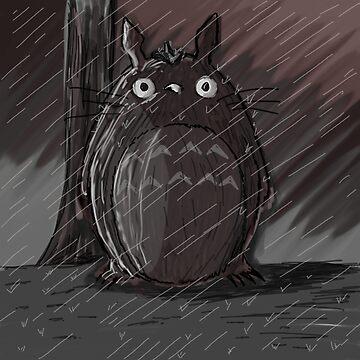 Totoro - My Neighbor Totoro by LnS-Mangart