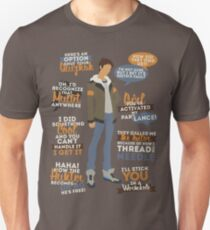 Lance Quotes Unisex T-Shirt