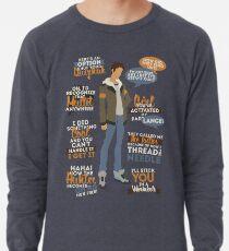 Lance Quotes Lightweight Sweatshirt