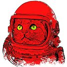 Space Cat Astronaut by Alberto Marinelli