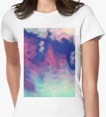Tripped Out Womens Fitted T-Shirt