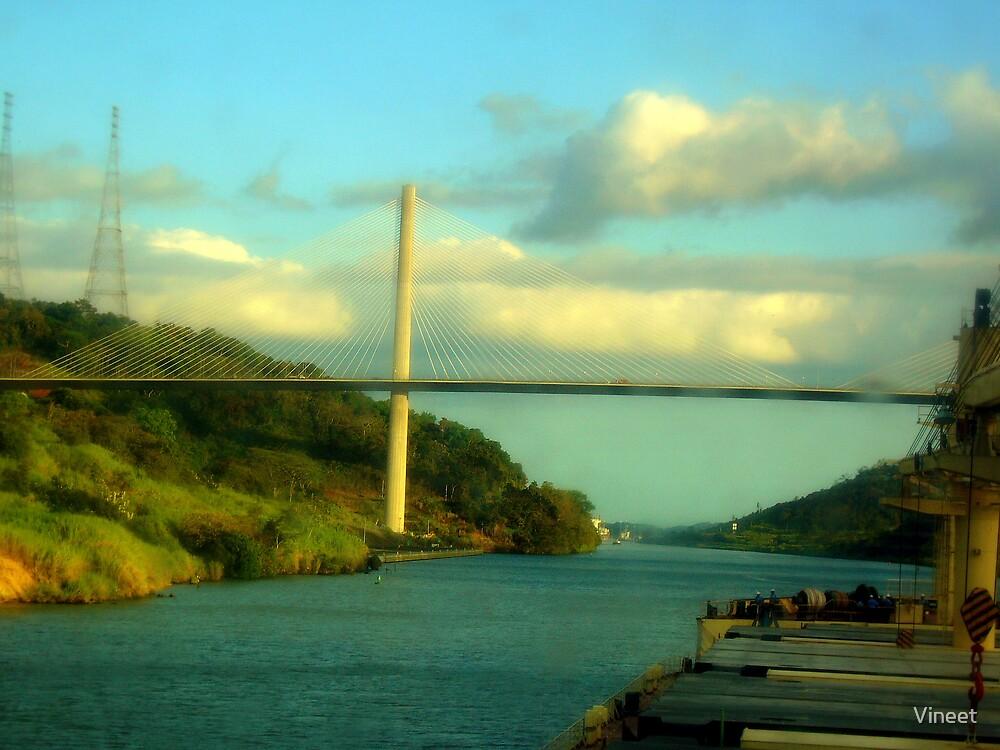 bridge on panama by Vineet