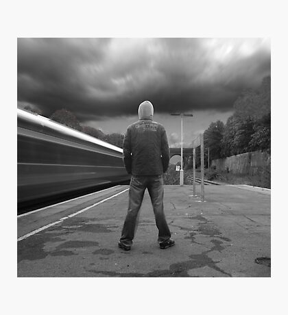 THE TRAVELLER Photographic Print