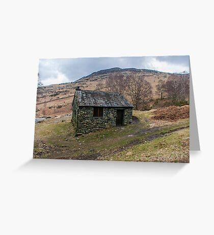Ashness Bridge Shelter Greeting Card