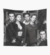 Riverdale cast b&w Wall Tapestry