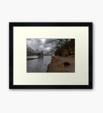 Brothers Water Shoreline Framed Print