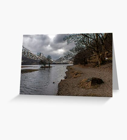 Brothers Water Shoreline Greeting Card